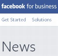 Fsacebook for Business News