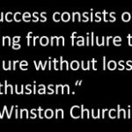 Churchill success quote