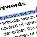 Keyword definition highlighted