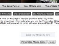 Affiliate Tools Page